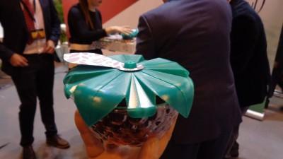 El nuevo 'Berrybowl' tiene una capacidad de 125 gramos.