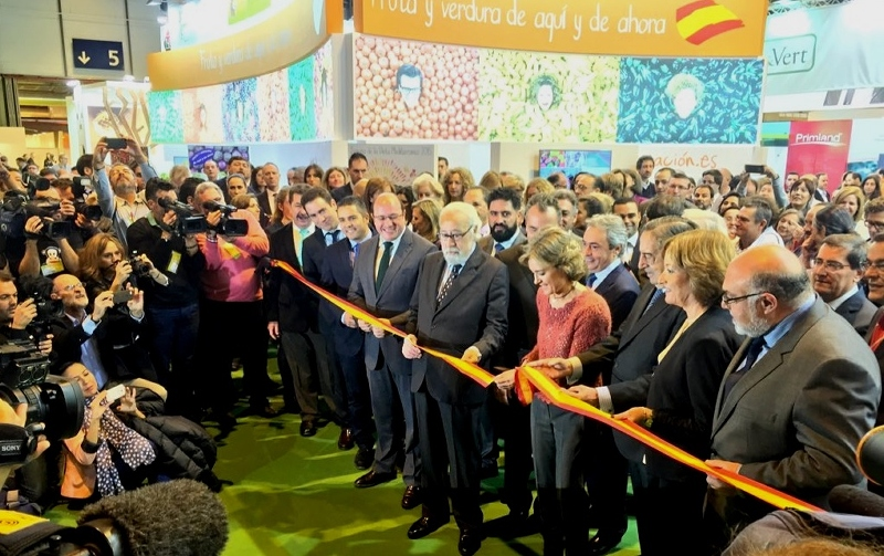 isabel garcía tejerina inaugura Fruit Attraction 2015.