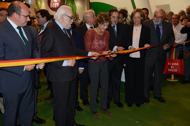 La ministra García Tejerina inaugura Fruit Attraction 2015