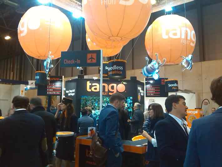 Eurosemillas ha estado presente también en Fruit Attraction 2015 con su variedad de cìtricos 'Tango'.