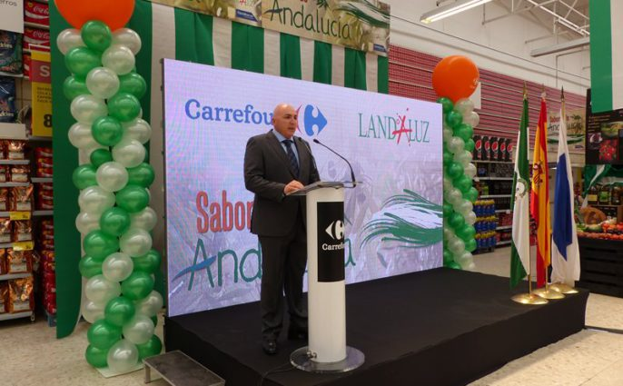 Francisco Molina, director de Carrefour-Huelva.