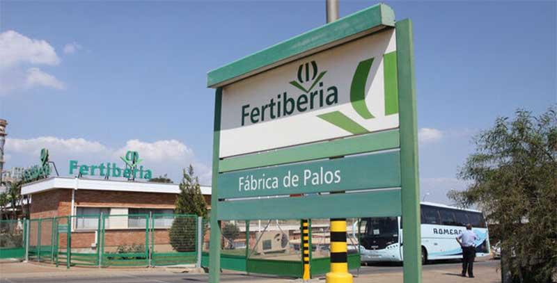 Fertiberia en Huelva.