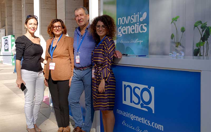 NSG en el Congreso de frutos rojos